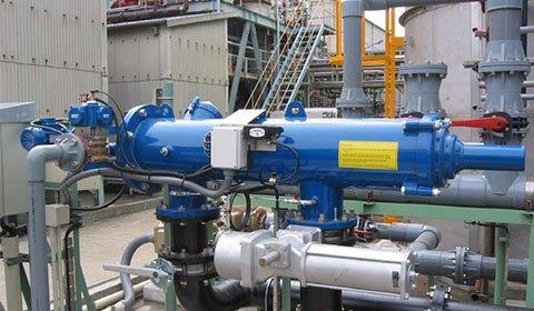 京浜工業地帯の化学工場における工業用水のろ過、砂ろ過の代替