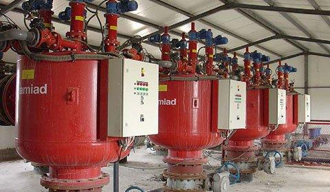 火力発電所における河川水を水源とした原水の砂・珪藻類等の除去