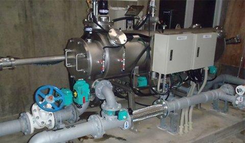 浅井戸を水源とした浄水場における水質管理強化のために採用