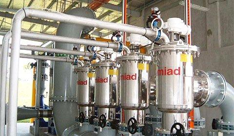 複数の下水処理場において、MF膜の保護フィルターとして導入